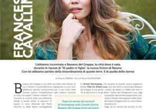 Francesca Cavallin  Sei Magazine