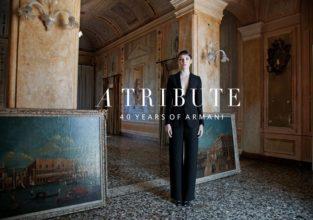 A Tribute to Giorgio Armani  editorial
