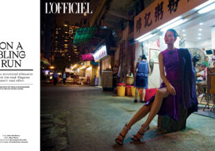L'Officiel India: On a Bling Run